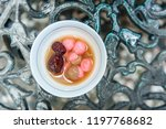 chinese sweetheart soup  longan ... | Shutterstock . vector #1197768682