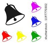 elements of bell in multi... | Shutterstock . vector #1197770302