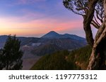 majestic view of mountains at... | Shutterstock . vector #1197775312