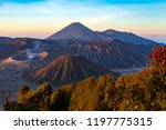 majestic view of mountains at... | Shutterstock . vector #1197775315