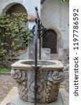 bran  brasov  transylvania ... | Shutterstock . vector #1197786592