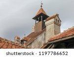 bran  brasov  transylvania ... | Shutterstock . vector #1197786652