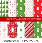 ten christmas different... | Shutterstock .eps vector #1197797278