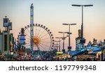 munich  germany   october 4 ...   Shutterstock . vector #1197799348