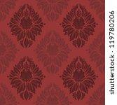 vector damask seamless pattern... | Shutterstock .eps vector #119780206