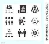 simple set of 9 icons related... | Shutterstock . vector #1197816538