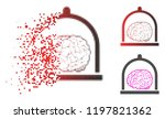 brain conservation icon in... | Shutterstock .eps vector #1197821362