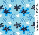 seamless winter pattern with... | Shutterstock .eps vector #119783926