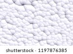 3d rendering picture of white... | Shutterstock . vector #1197876385