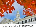 hanover  new hampshire usa  ... | Shutterstock . vector #1197887665