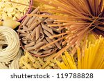 Different Types Of Pasta. Whole ...