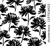 seamless pattern with... | Shutterstock .eps vector #1197926425