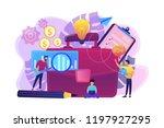 business people working on plan ... | Shutterstock .eps vector #1197927295