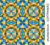 geometric seamless pattern.... | Shutterstock .eps vector #1197944692