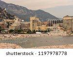 beach plage marquet in a summer ...   Shutterstock . vector #1197978778