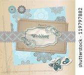 scrapbook design elements  ... | Shutterstock .eps vector #119797882