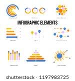 education data visualisation... | Shutterstock .eps vector #1197983725