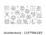 ai horizontal line banner....   Shutterstock .eps vector #1197986185