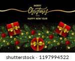merry christmas and happy new... | Shutterstock .eps vector #1197994522