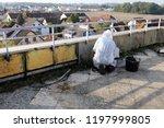 professional asbestos abatement | Shutterstock . vector #1197999805