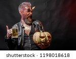 halloween holiday celebration... | Shutterstock . vector #1198018618