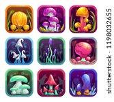 app icons with fantasy cartoon...