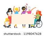 vector illustration of... | Shutterstock .eps vector #1198047628