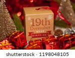 december 19th in advent...   Shutterstock . vector #1198048105