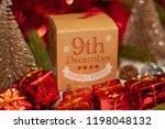 december 9th in advent...   Shutterstock . vector #1198048132