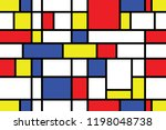 seamless abstract geometric...   Shutterstock .eps vector #1198048738