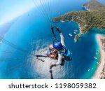 Paragliding In The Sky....
