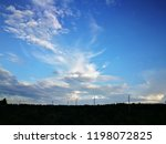 blue sky with clouds  blue sky... | Shutterstock . vector #1198072825