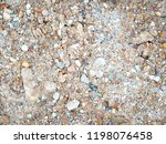 blur small stones and sands on... | Shutterstock . vector #1198076458