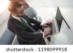 concentrated professional it... | Shutterstock . vector #1198099918