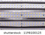leds bulb close up  macro shot | Shutterstock . vector #1198100125