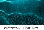 data technology background.... | Shutterstock . vector #1198113958