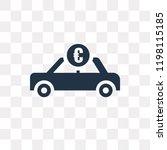 car sale in euros vector icon...   Shutterstock .eps vector #1198115185