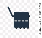 tissue paper vector icon... | Shutterstock .eps vector #1198116238