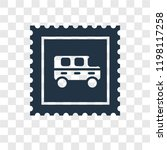 stamp vector icon isolated on... | Shutterstock .eps vector #1198117258