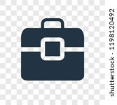 briefcase vector icon isolated...