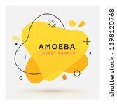 modern abstract vector banner.... | Shutterstock .eps vector #1198120768