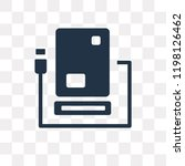 hard disk vector icon isolated... | Shutterstock .eps vector #1198126462