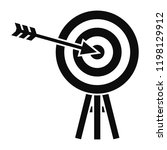 brand company target icon.... | Shutterstock .eps vector #1198129912