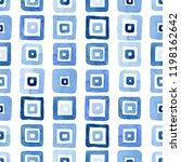 blue watercolor seamless... | Shutterstock . vector #1198162642