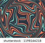 optical illusion  abstract... | Shutterstock .eps vector #1198166218