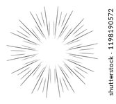 sparkles and bursts. flash... | Shutterstock .eps vector #1198190572