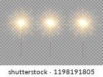 vector light sparkler...   Shutterstock .eps vector #1198191805