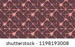 artistic tie dye geisha... | Shutterstock .eps vector #1198193008