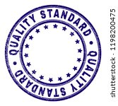 quality standard stamp seal... | Shutterstock .eps vector #1198200475