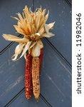 Ornamental Corn On Door